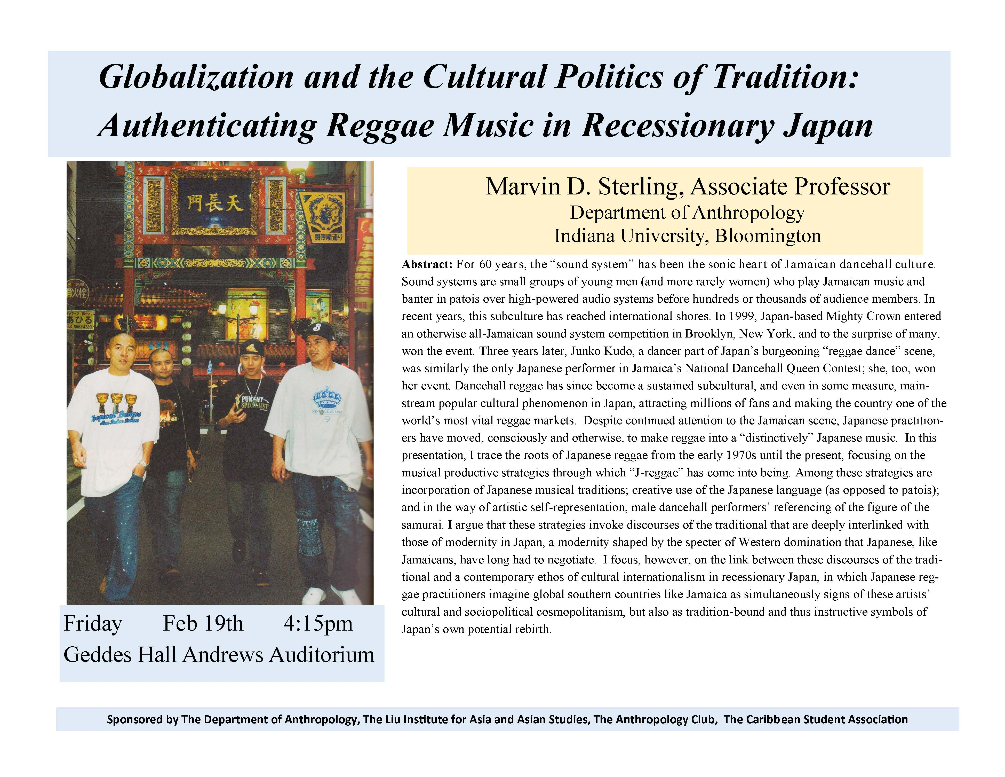 Globalization and the Cultural Politics of Tradition