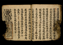 19th century chinese manuscript